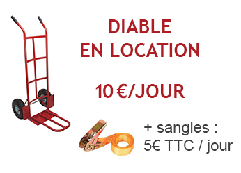Diable en location